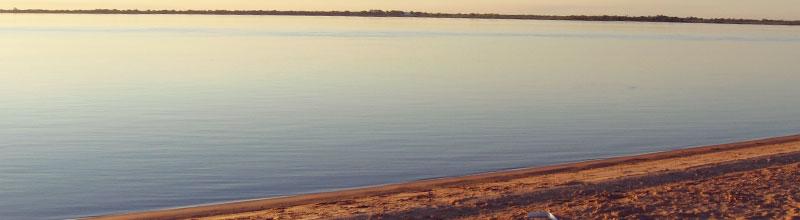 Las playas de Paso de la Patria en Corrientes, todo el brillo del Rio Paraná