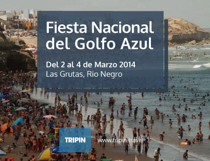 Fiesta Nacional del Golfo 2014 en Las Grutas