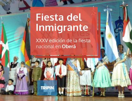 Llegá la XXXV edición de la Fiesta del Inmigrante en Oberá, Misiones