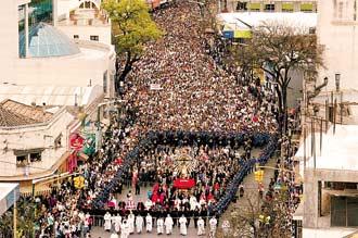 Mas de medio millon de fieles en la fiesta del milagro en Salta
