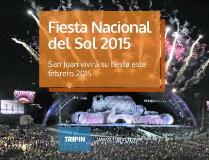La fiesta nacional del sol en febrero 2015 en San Juan