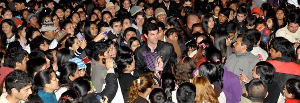 Festival de la patria grande 2013 en Salta