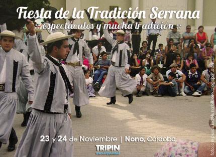 Fiesta de la tradición serrana, en el bellisimo destino de Nono, en traslasierra, Córdoba