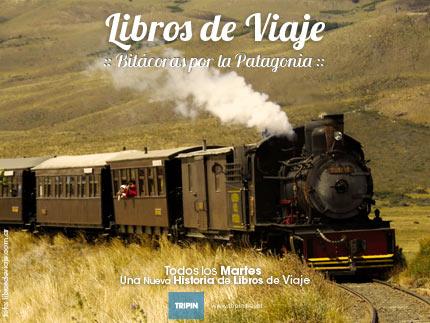 Libros de viaje en la Fiesta Nacional del Tren a Vapor en El Maiten