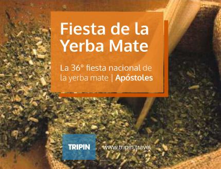 Llega la 36° fiesta nacional de la yerba mate en Apostoles, Misiones