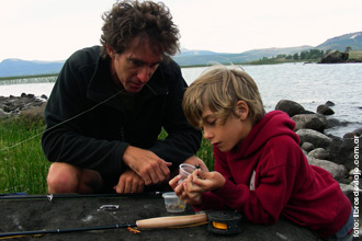 Libros de viaje en la Patagonia a pura pesca deportiva con mosca