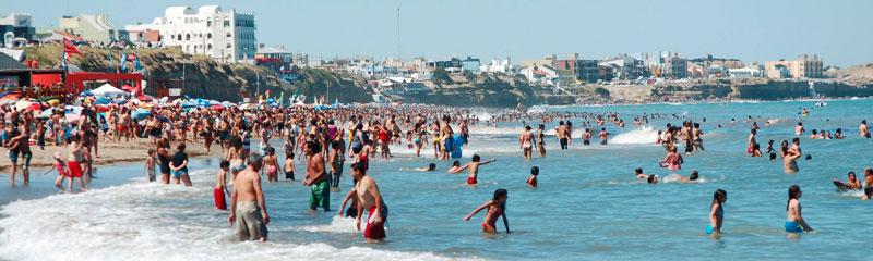 Las Grutas en verano, un destino cada vez más elegido para las vacaciones