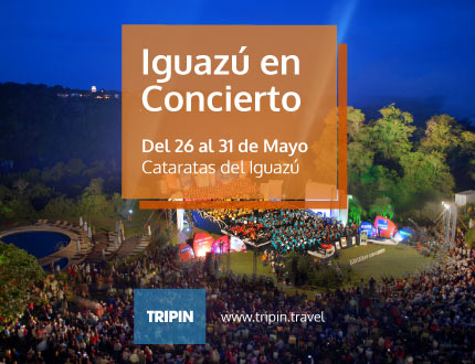 Iguazú en Concierto 2014, Festival en las Cataratas del Iguazú