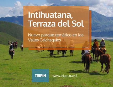 Intihuatana,Terraza del Sol en los Valles Calchaquies