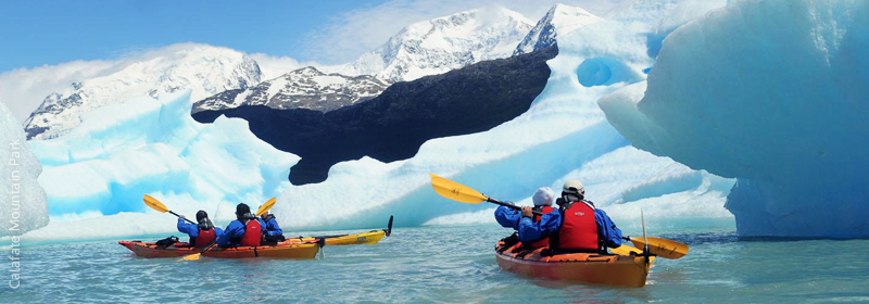 Kayak Glaciar Upsala