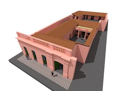 La gran obra de restauración de la casa de Guemes