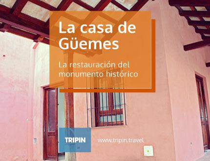La casa de Güemes, una gran obra de restauración del monumento histórico.