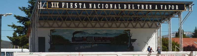La fiesta nacional del tren a vapor en el Verano 2014 de la Patagonia