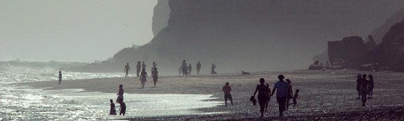 Asi luce La Lobería a sólo 65 km de Viedma en Rio Negro