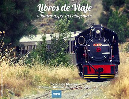 La familia que viaja por la Patagonia en el cumpleaños de la Trochita!