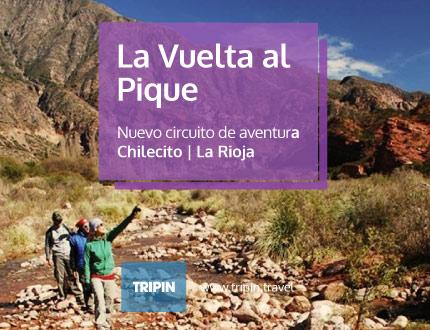 La vuelta al pique, nuevo circuito de aventura en Chilecito, La Rioja