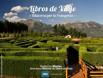 Libros de viaje en el laberinto mas grande de sudamerica en El Hoyo, Chubut!
