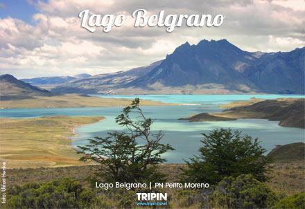 Lago Belgrano en el PN Perito Moreno