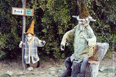 Los duendes del Lago Gutierrez en Bariloche