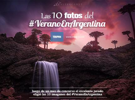Las 10 fotos del #VeranoEnArgentina elegidas por el excelente jurado!