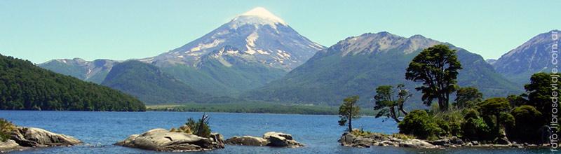La leyenda del volcan Lanin contada por Libros de viaje
