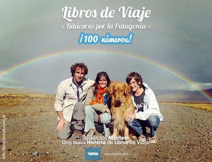 La familia que viaja por la Patagonia y los 100 numeros en el blog de tripin! GRACIAS!!