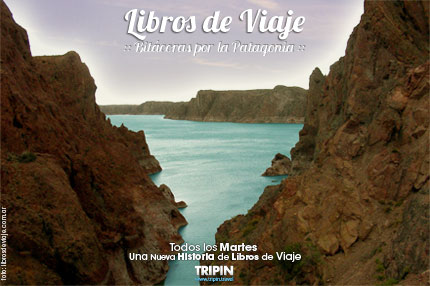 Libros de viaje en el Dique ameghino de Chubut