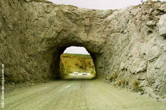 El tunel camino al Dique Fiorentino ameghino