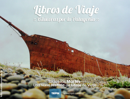 Libros de viaje en el Majory Glen, el naufragio frente a las cotas de Rio Gallego