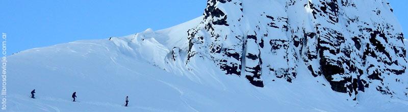 Libros de viaje en la Patagonia, nieves de la primavera!