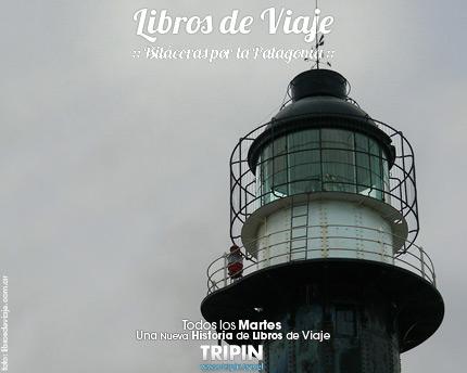 Libros de viaje en Cabo Virgenes