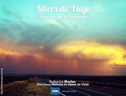 Libros de viaje en la gran tormenta patagónica