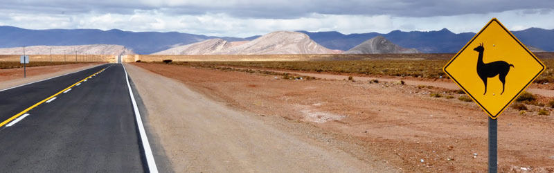 Los paisajes de la Puna de Jujuy