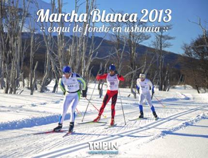 Marcha Blanca, esqui de fondo en Ushuaia