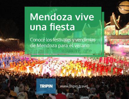 Mendoza vive una fiesta, un verano repleto de festivales y vendimias