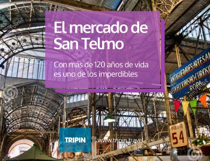 Mercado de San Telmo de Buenos Aires