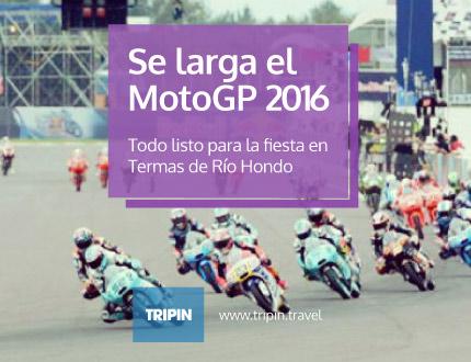 Se larga el Moto GP 2016 en Termas de Rio Hondo