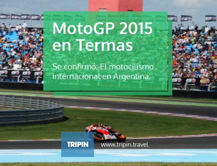 El MotoGP se vivirá nuevamente en Argentina: en Termas en 2015