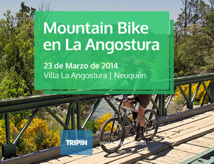 Carrera de Mountain Bike en Villa La Angostura