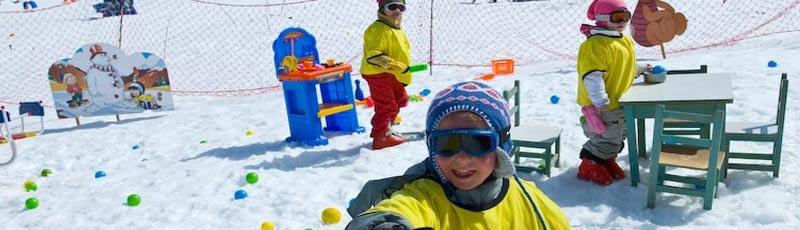 Las escuelitas de nieve en el invierno 2014 en los centros de ski de Argentina