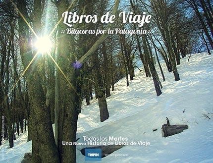 Libros de viaje en la nieve de Bariloche!