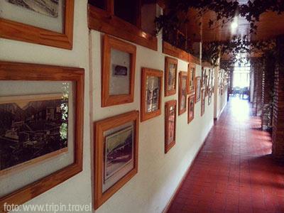 El tunel del tiempo en el Hotel de las Termas de Cacheuta. Una historia que comienza en 1822.