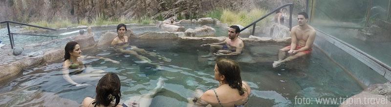 Disfrutando de un increíble día de spa en las Termas de Cacheuta!
