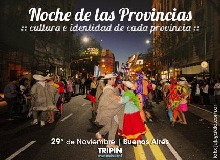 La noche de las provincias 2013 en la ciudad de Buenos Aires con fecha definida!