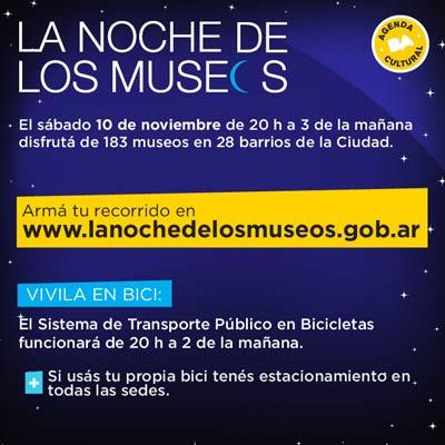Noche de los museos en BA