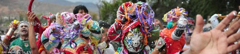 Los carnavales del norte de nuestro pais con toda su tradicion milenaria