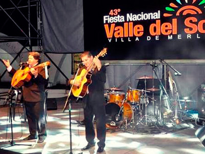 Fiesta Nacional del Valle del Sol, Villa de Merlo