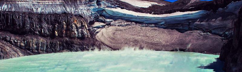 Volcán Copahue en Neuquén