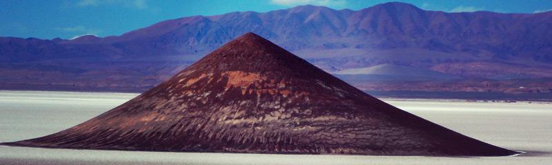 Cono de Arita, en Salta