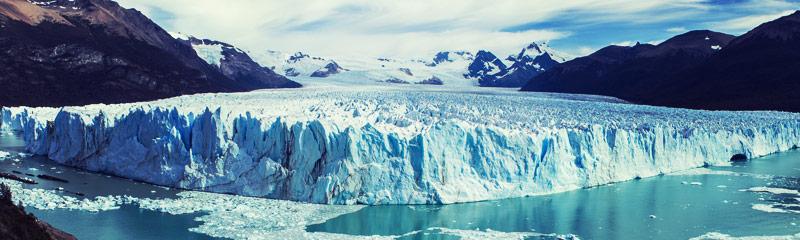 Glaciar Perito Moreno en Santa Cruz